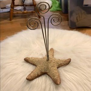 Beachy Star Picture Organizer